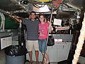 Inside the TINY USS Torsk!