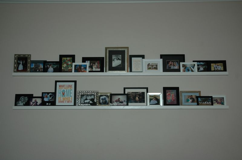 My art shelves