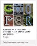 2 Letter prints